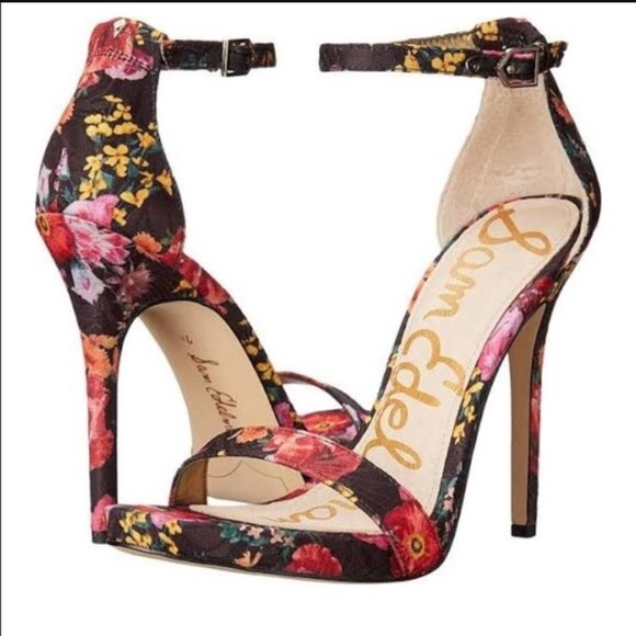 Sam Edelman Eleanor floral heels 7.5
