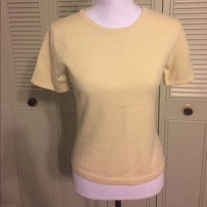 Lord & Taylor Sweaters - Beautiful pale yellow cashmere!