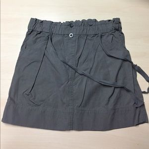 Old Navy Dresses & Skirts - Old Navy Grey Chino Skirt Size Large