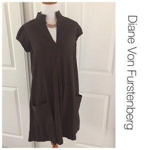 Diane von Furstenberg Dresses & Skirts - Diane Von Furstenberg silk swing dress size 4