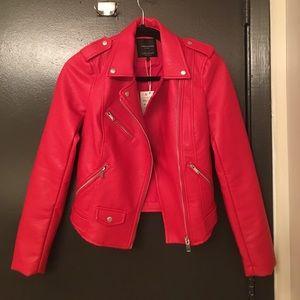 Zara Jackets & Coats - Zara Leather Jacket