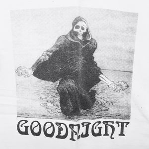 HUF Other - HUF Goodnight White Tee Men's Size Small Psych