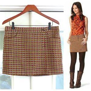 Anna Sui Dresses & Skirts - Anna Sui for Target Rust & Orange Mini Skirt sz 9