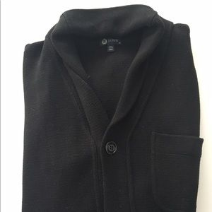J. Crew Other - J.Crew men's black cotton cardigan