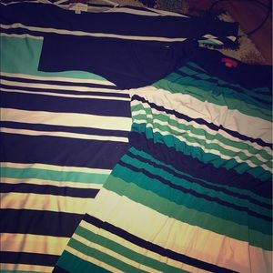 Always For Me Dresses & Skirts - 2 stripe dresses bundle
