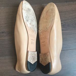 11482345c Vince Shoes | Maxwell Leather Flats | Poshmark