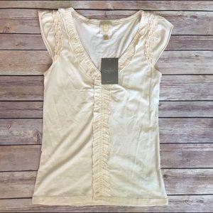 Anthropologie Tops - Anthropologie Ric Rac tank blouse size XS NWT