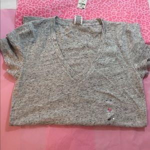 PINK Victoria's Secret Other - Victoria's Secret PINK sleepwear t shirt gray