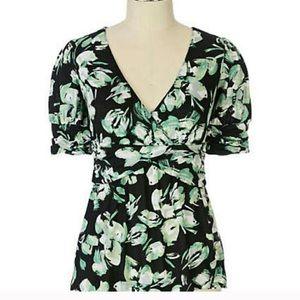 Anthropologie Tops - Anthropologie Ric Rac Floral blouse sz Medium