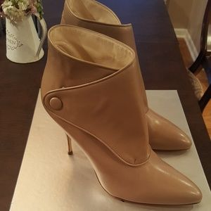 Brian Atwood Shoes - PRICE DROP! Brian Atwood Leather Ankle Boots NWT