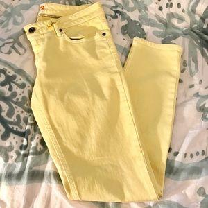 Hugo Boss Denim - •Boss Orange• Yellow Skinny Jeans