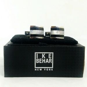 Ike Behar Other - Ike Behar Mother of Pearl Cufflinks- New in Box
