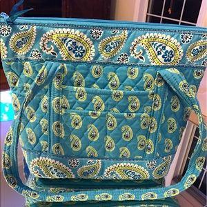 Vera Bradley Tote Bag Bermuda Blue