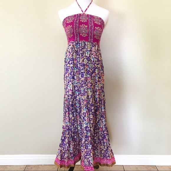 63 off anthropologie dresses skirts nwot for Anthropologie mural maxi dress
