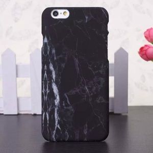 Accessories - HP 🎉 Black Marble Granite Style Case iPhone 6/6s
