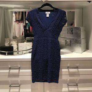 Nightcap Dresses & Skirts - Nightcap royal blue lace mini
