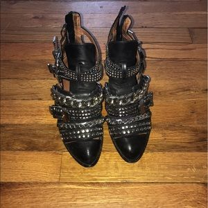 Jeffrey Campbell Booties Size 5