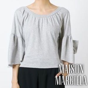 Maison Margiela Tops - Maison Margiela MM6 bell sleeve tee