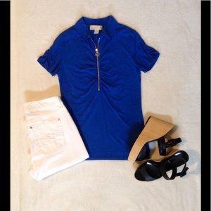 Michael Kors half zip shirt