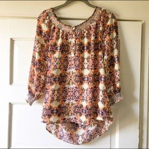 Anthropologie Caslon Top