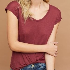 Anthropologie Tops - Draped Twist Front Tee by Pure and Good.