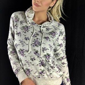 Forever 21 Tops - Floral hoodie