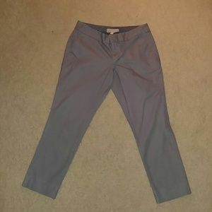 Banana Republic Pants - 🔴 Banana Republic Brown Cropped Hampton Fit Pants