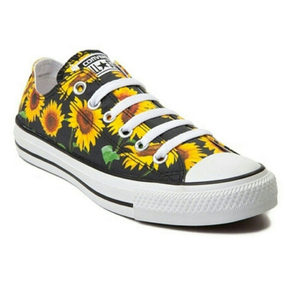 Converse Sunflower Shoes