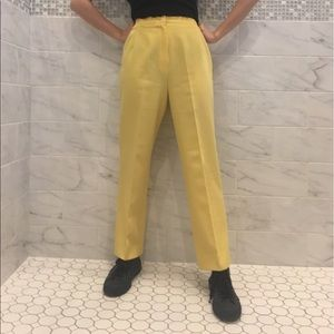 Urban Outfitters Pants - Vintage Yellow Trouser Pants