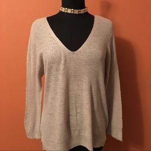 Zara Knit Vneck Sweater