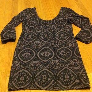 Free People textured mini dress