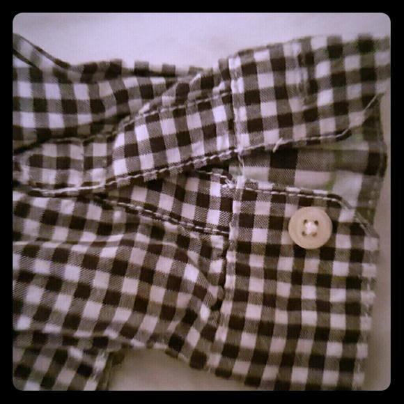 Toddler Boy 4T 5T Black White Buffalo Plaid Clip On Cotton Bow Tie