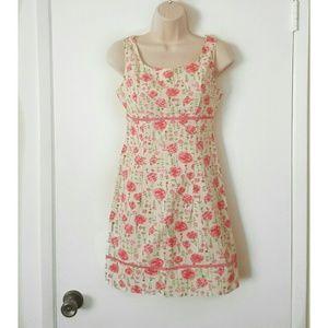 Blue Asphalt Dresses & Skirts - Blue Asphalt Floral Sundress NWT