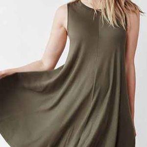 Casual flowy sleeveless dress