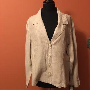 Super Savvy Linen Jacket