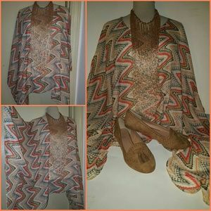 Tops - Multicolored Tunic (top only)