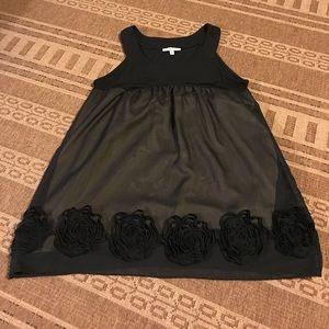 Moa Moa Tops - Black Sheer Top