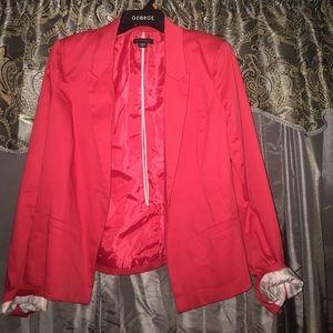 Metaphor Jackets & Blazers - Red blazer