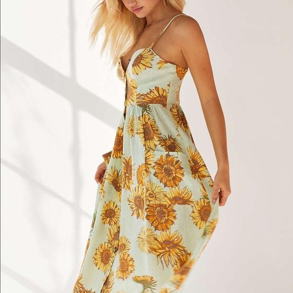 1eb2877843f Cooperative Emilia Linen Button-Down Midi Dress