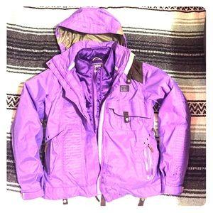 Helly Hansen Jackets & Blazers - Purple Helly Hansen snowboard jacket!