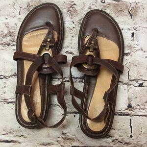 Nurture by Lamaze Shoes - 🎈OFFER $25 🎈SZ 8.5 NURTURE BROWN LEATHER SANDALS