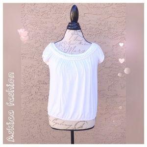 Studio M Tops - Studio M casual white top