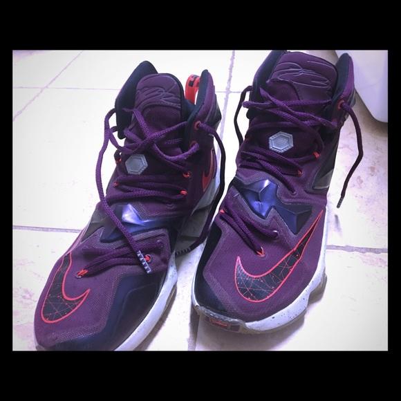 Nike Lebron Xiii 3 Mulberry Mens Purple