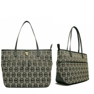 🎉HP🎉 MICHAEL KORS Logo Medium Tote Handbag NWT