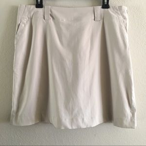 Nike Women's Golf Tennis Nude Skort Sz 12