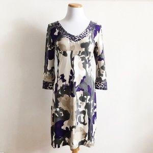 Vertigo Paris Dresses & Skirts - Vertigo Paris Painted Leopard Print Dress Size M