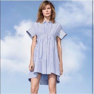 Victoria Beckham Dresses & Skirts - VB for Target blue striped poplin dress