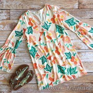 Floral Criss Cross Dress || S, M, L