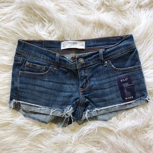 Gilly Hicks Pants - Gilly Hicks Denim cutoff Shorts