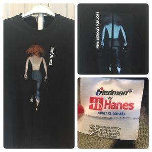 Vtg 90s Tori Amos From the Choirgirl Hotel tee